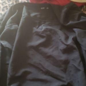 Short sleeve button down blouse
